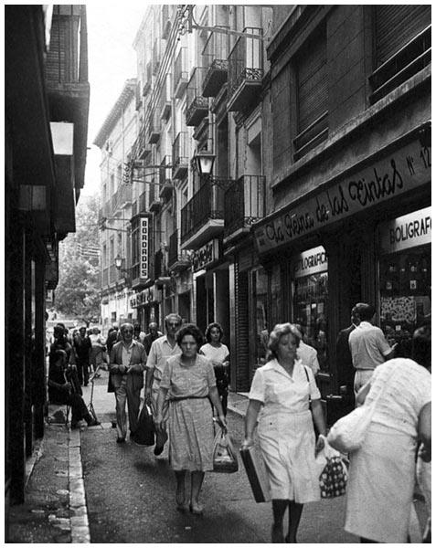 Calle comercial Torrenueva años 50