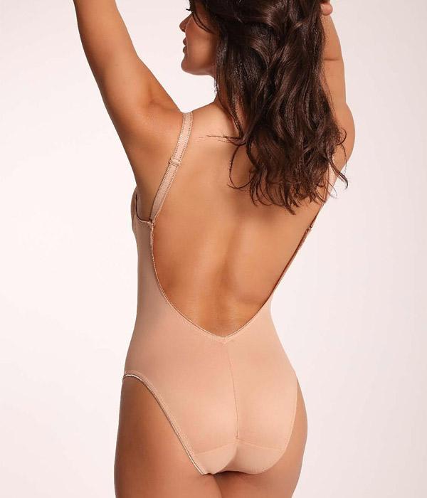 Body sin espalda de Clara lingerie