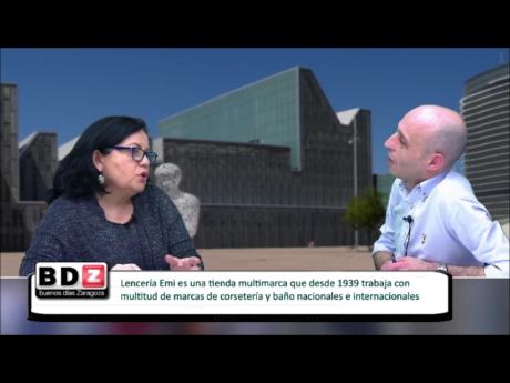 Entrevista a Pilar Vallespin la corsetera mediatica Lenceria Emi Zaragoza