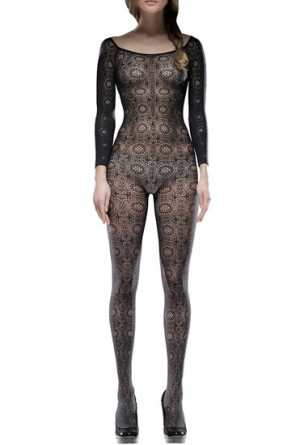 Circle Lace Bodysuit