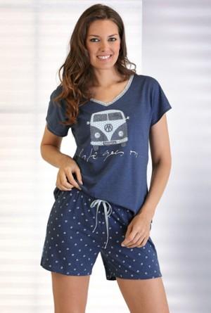 Pijama azul vigore P161220