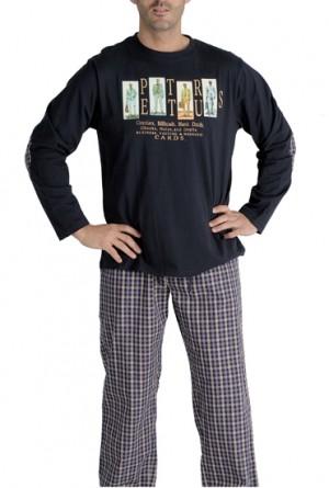 Pijama hombre Pettrus cuadros vichy