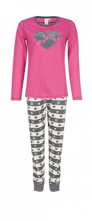 Pijama Corazón de lentejuelas