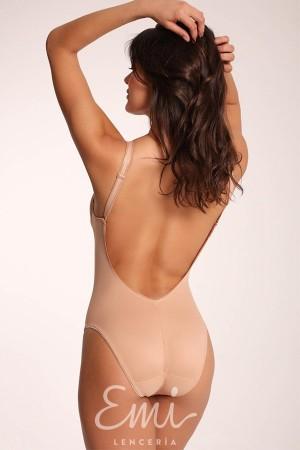 Body escotado espalda descubierta NICOLE de la firma italiana Clara
