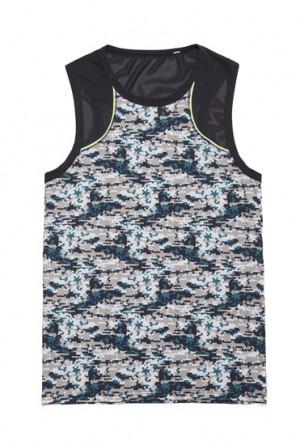 Camiseta tirantes gym Hom