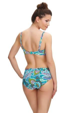 Bikini braguita alta estampado cashmere