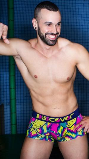 Boxer estampados Discover Underwear Oferta Packs