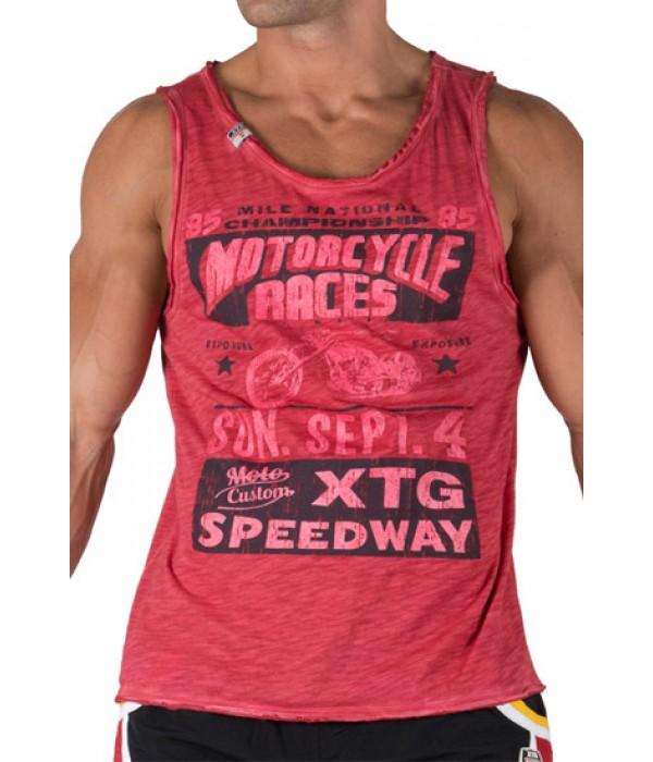 Camiseta tirantes XTG roja