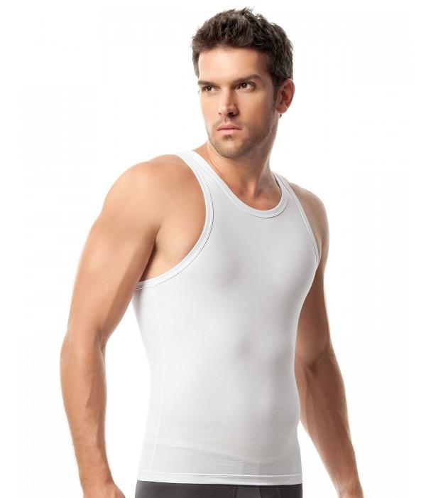 Camiseta de compresion para hombre. Leo especialistas en fajas para chicos