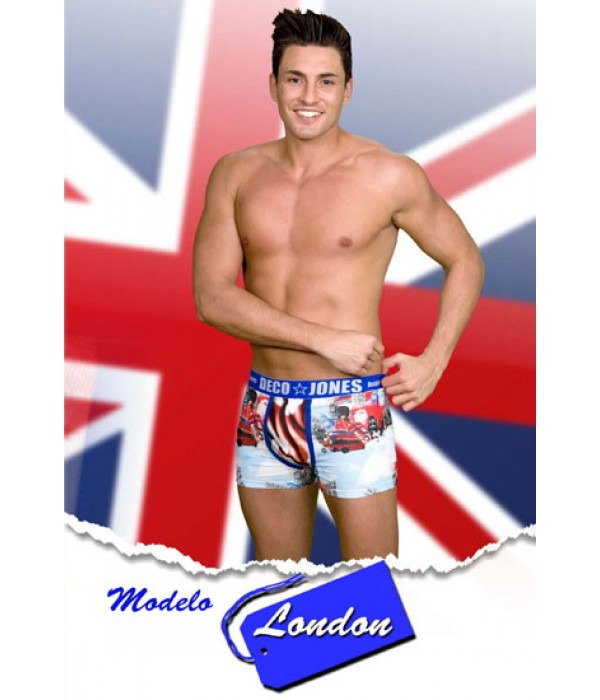 Boxer London beefeater print style Underwear UK