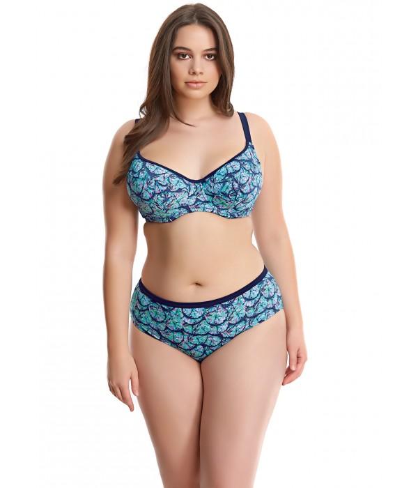 Bikini con aro modelo tallas grandes Abalone Elomi braguita alta