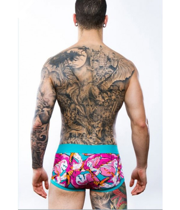 Boxer Discover Underwear Flamencos