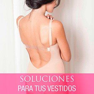 Soluciones para tus vestidos espalda descubierta