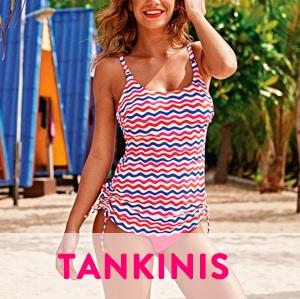 Tankinis, moda verano mujer 2018